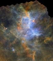 La Via Lattea infrarossa vista da Herschel